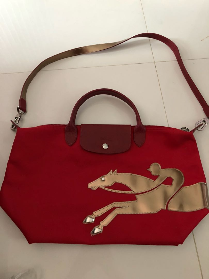 Authentic Longchamp Limited Edition Bag In M Size Luxury Bags Quadry Wallets Handbags On Carousell