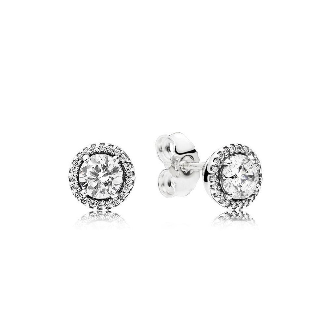 9eb468219b20 Authentic Pandora Earrings Classic Elegance Stud Earrings with Cubic ...