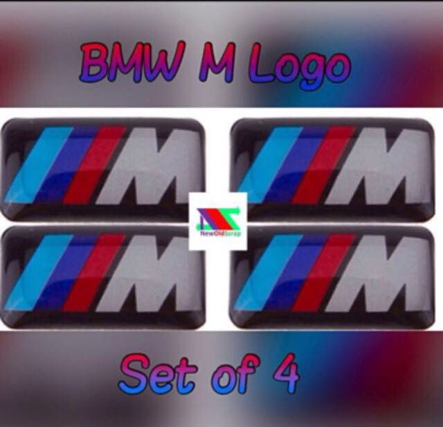 Bmw M 3d Logo Car Accessories Accessories On Carousell