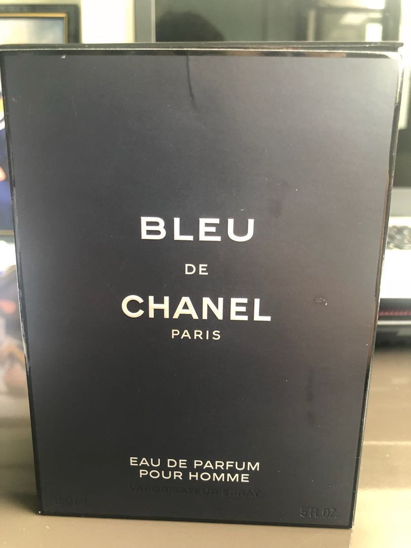 Brand New 150ml Bleu De Chanel Perfume Health Beauty Mens