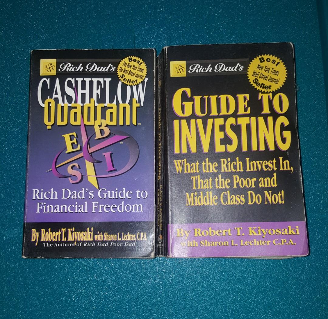 Cashflow Quadrant Guide To Investing By Robert Kiyosaki Books