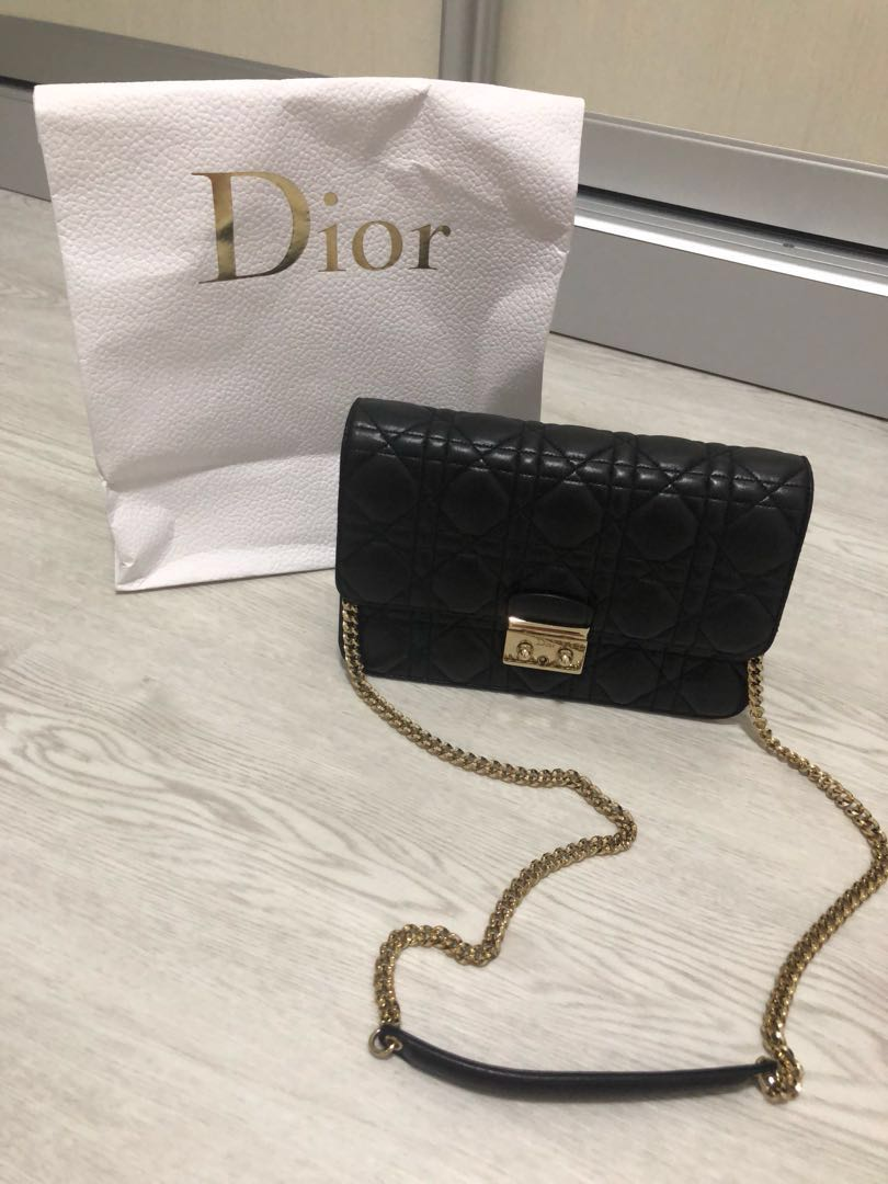f47a53d4 Christine Dior Sling Bag 💯 Authentic , Luxury, Bags & Wallets ...