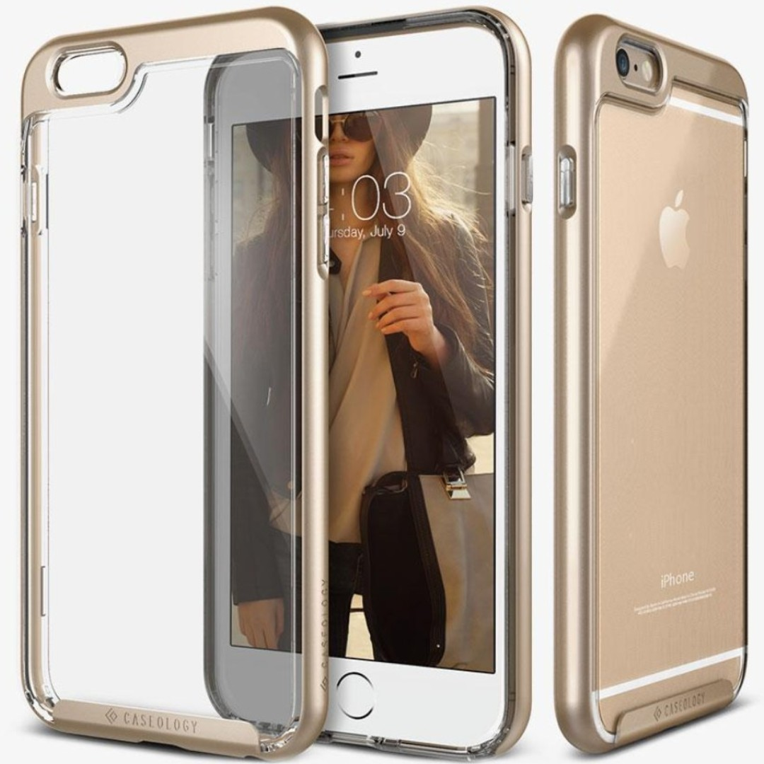 big sale 00d7c fb79a 🔥CLEARANCE!🔥 Caseology iPhone 6/6s PLUS [Skyfall] [Gold]