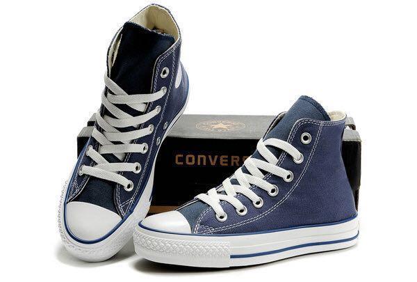 Converse Chuck Taylor High Tops (Navy Blue) b1d758455
