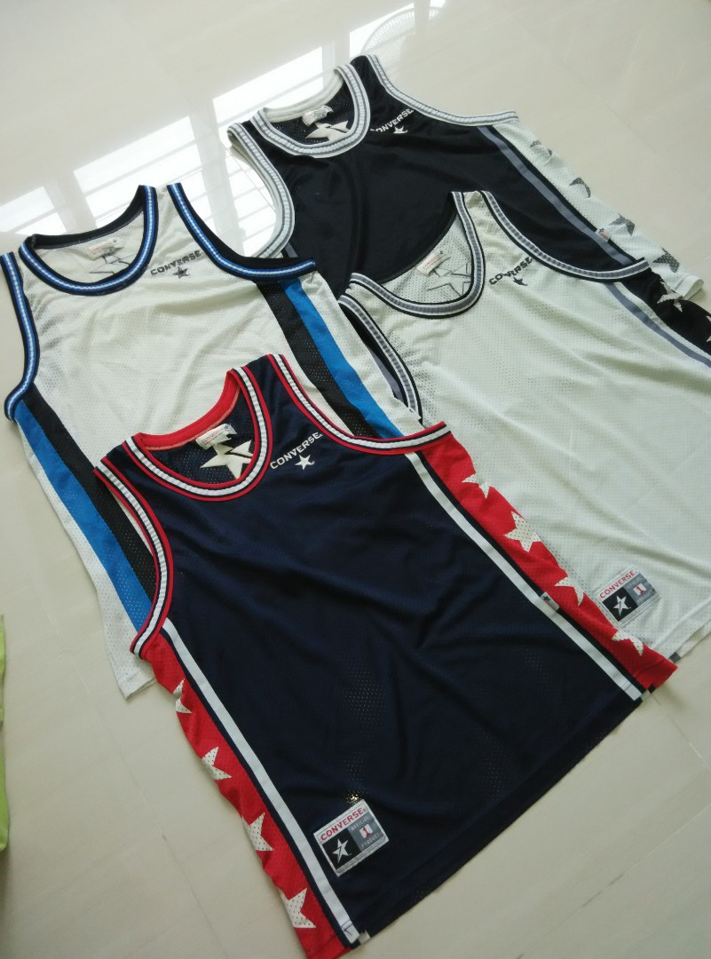c40afb643 Converse Man Basketball Jersey Top
