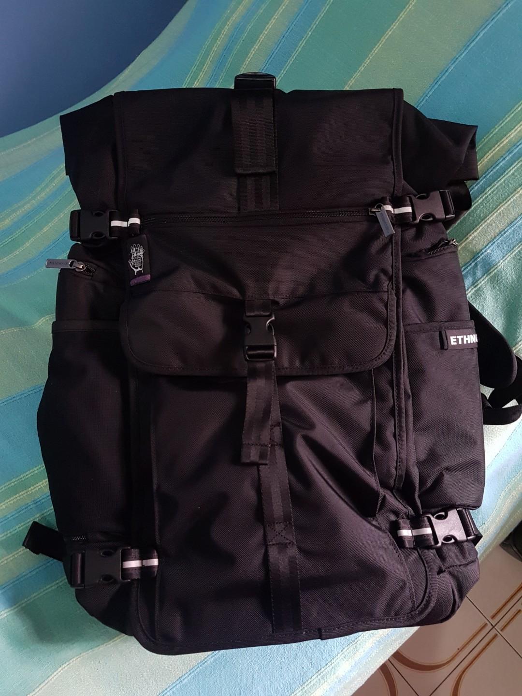 bc995895f5 Ethnotek - Raja 46L   Black Backpack