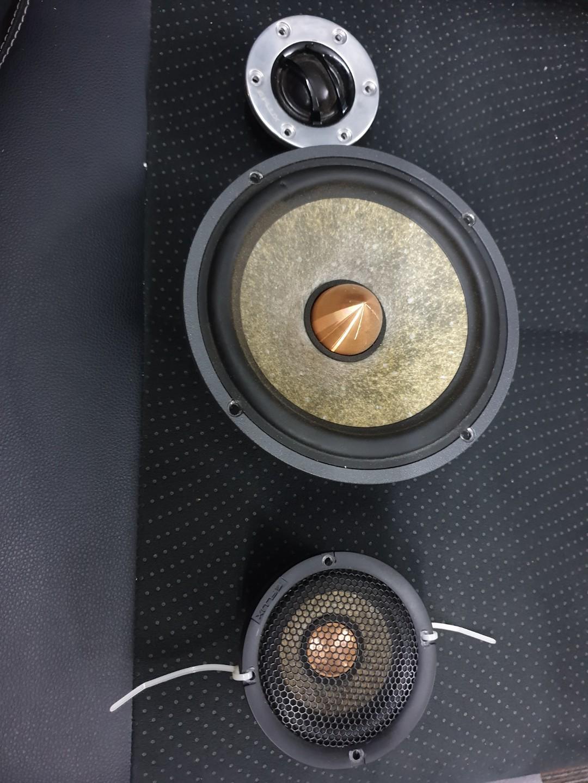 Flux one 3 way speaker