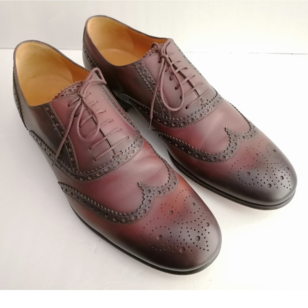 d4f2a488781 Genuine GUCCI Men s Leather Shoes Loafers. Size EU 43   UK 10   US ...