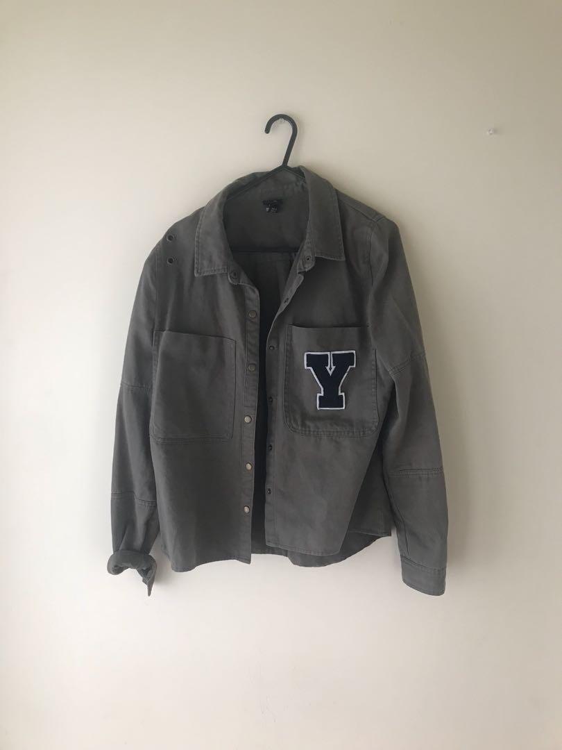 Jacket outerwear green