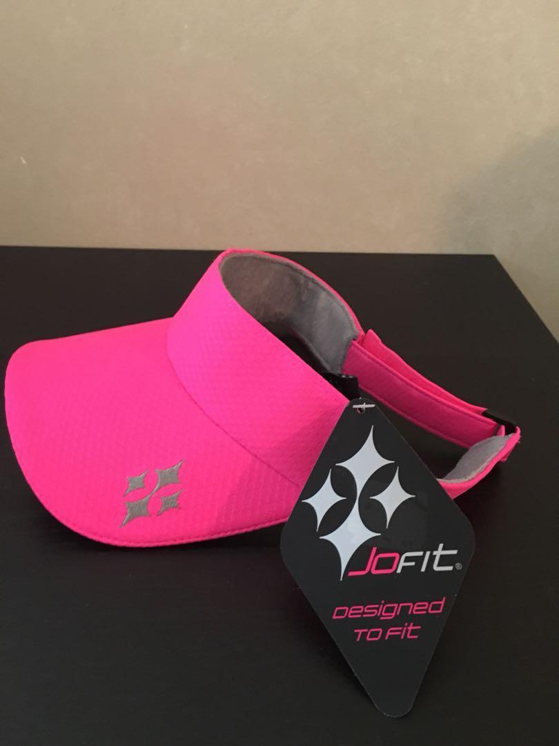 JoFit Pink Visor
