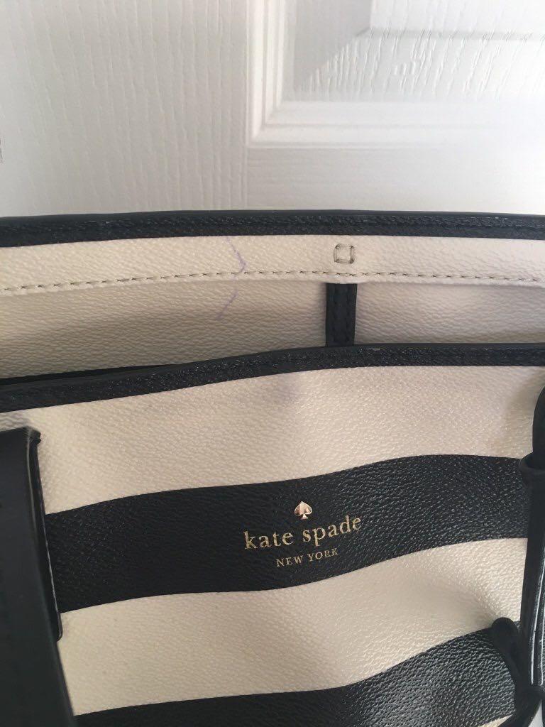 Kate Spade striped tote