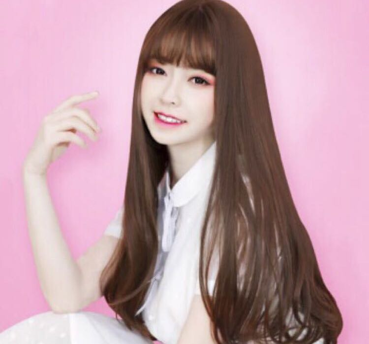 Korean Style Long Hair Wig Lucky Bag Everything Else On Carousell
