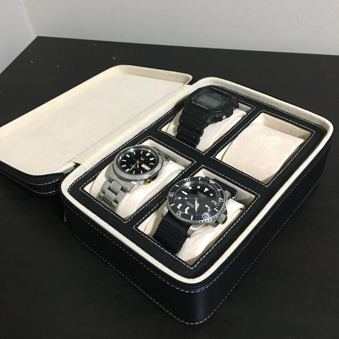 Leather Watch Travel Case Luxury Watches On Carousell