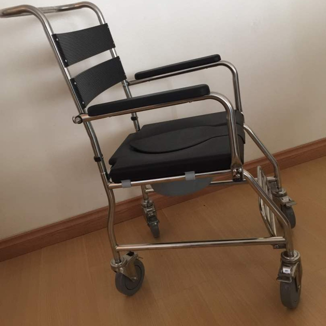LIFELINE Commode/ Shower Chair, Everything Else, Others on Carousell