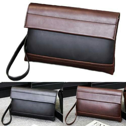 8bab293a91 Man Trending Fashion Leather Hand Carry Clutch Bag