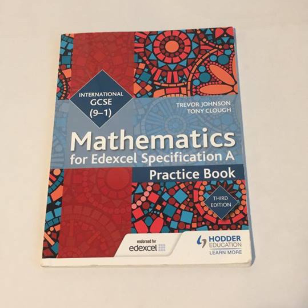 Mathematics For Edexcel Specification A International Gcse 9 1 Electronic Circuit Analysis And Design Neamen 3rd Edition Practice Book Textbooks On Carousell