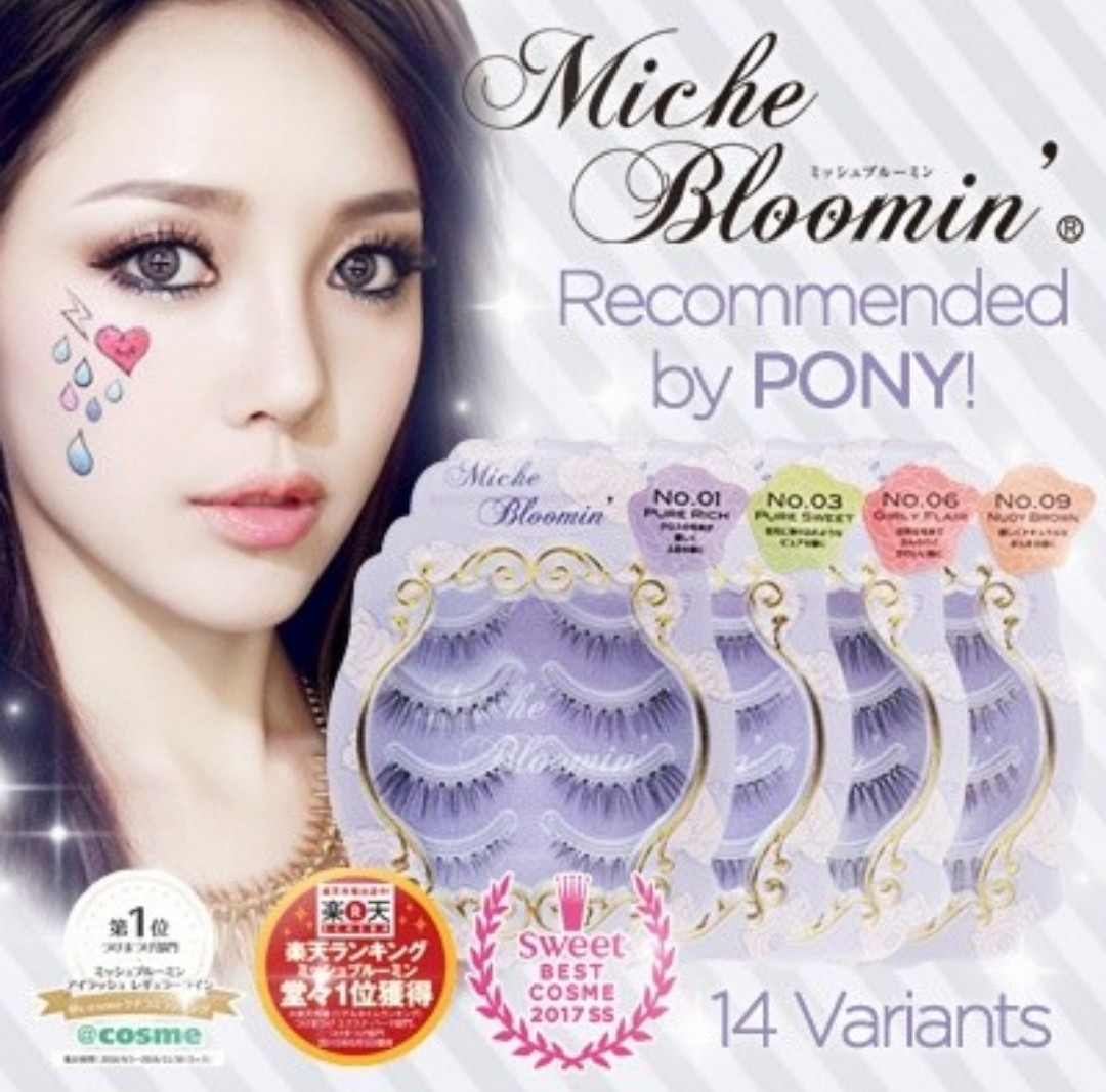 e2339bbd762 Miche Bloomin False Eyelashes Pure Nude No 02, Health & Beauty, Makeup on  Carousell