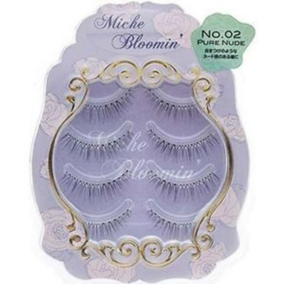 f8565eefcd9 Miche Bloomin False Eyelashes Pure Nude No 02, Health & Beauty ...