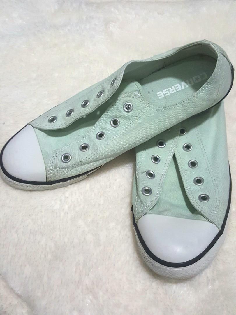 Mint Green Converse Chuck Taylor, Women