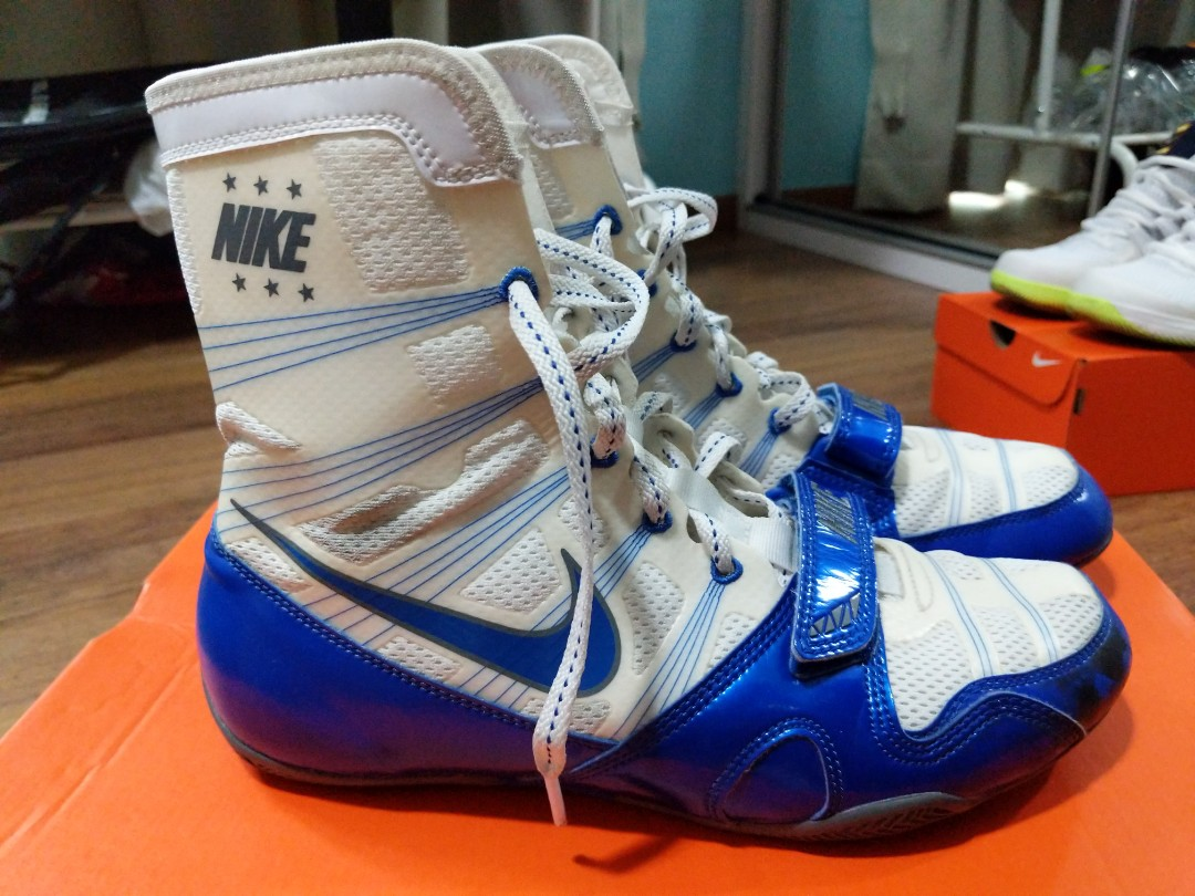 check out 950ab b6e90 Boxing shoes nike hyperko (with box), Sports, Sports Apparel on Carousell