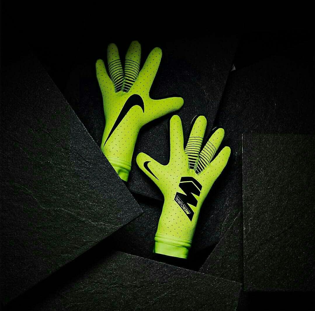 5dd8ca5e652 Nike Mercurial Touch Elite Goalkeeper Gloves Volt Black