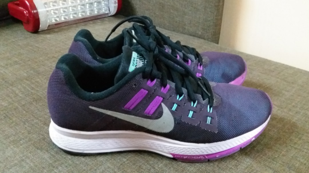 pretty nice 2eb3c cc892 Nike Womens Air Zoom Structure 19 Flash - Noble Purple Reflect ...