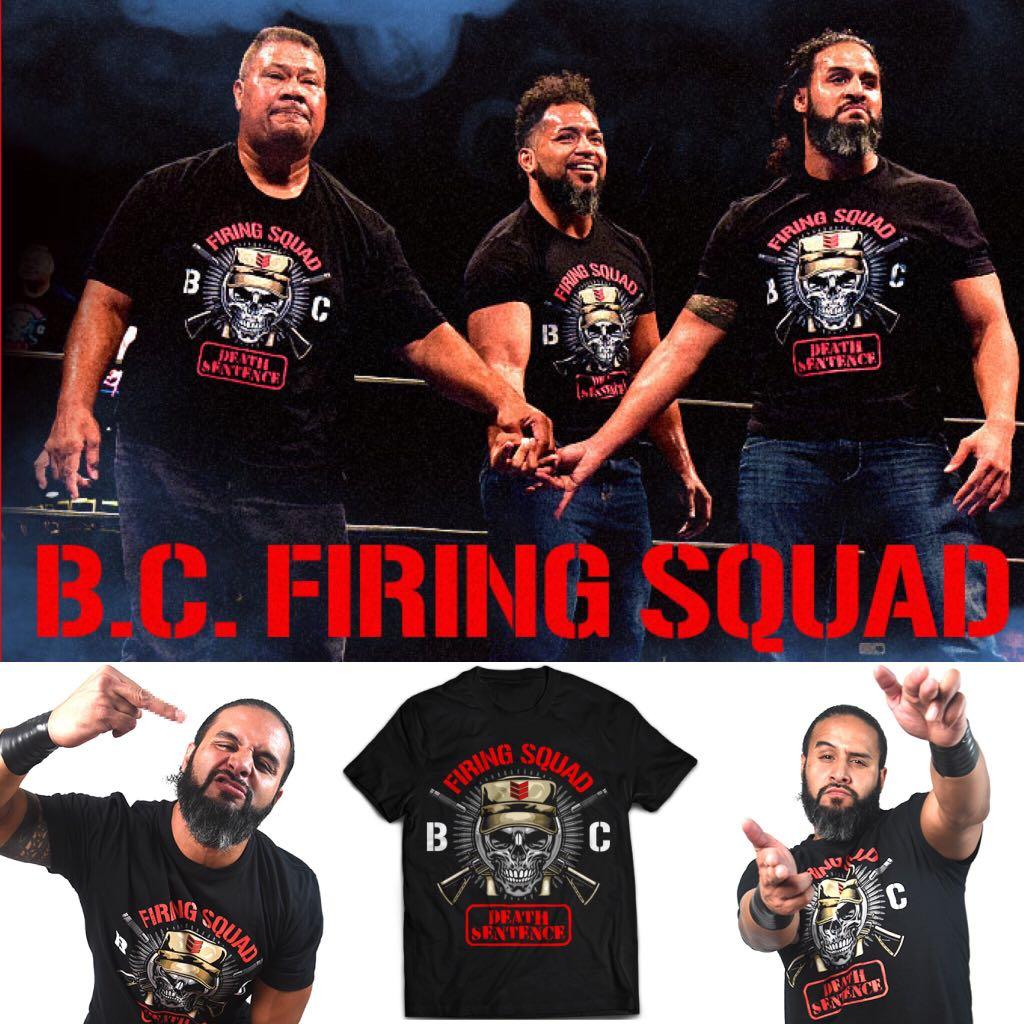 167d1a336ecbb NJPW Bullet Club Firing Squad Shirt