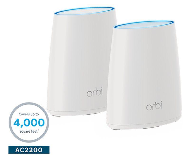 Orbi WiFi System (RBK40) AC2200 NETGEAR Sealed Set Tri-band Wifi