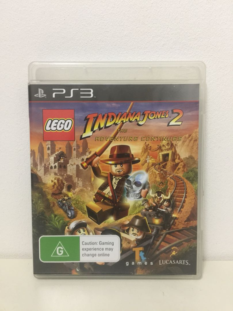 Ps3 Game Lego Indiana Jones 2 Permainan Video Video Games Di Carousell