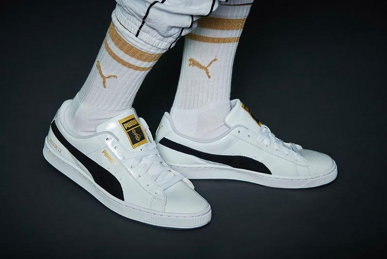 Puma X BTS Basket Patent Shoe Sneaker 37ff0eafd