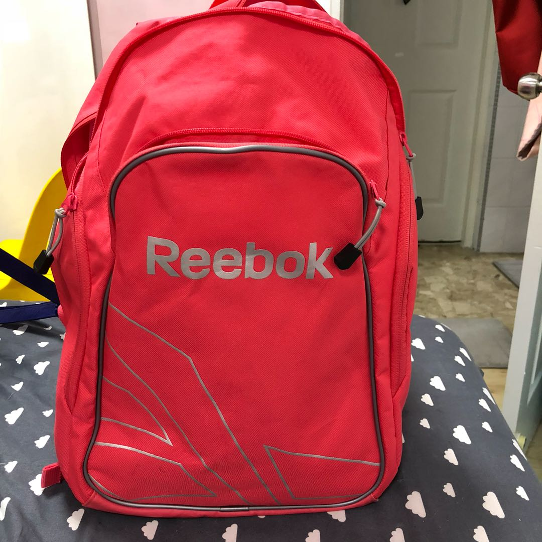 9918ed5d8f84 Reebok Coral backpack