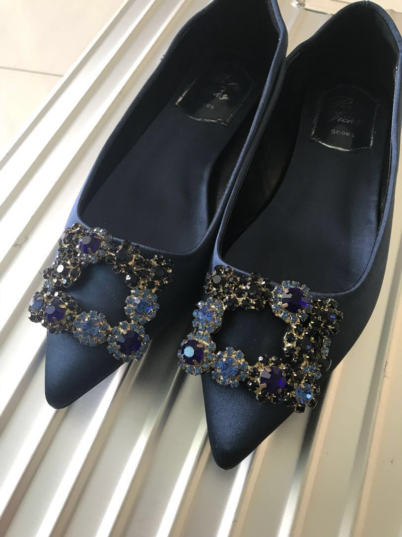 e9b8813d7a4c1 Roger vivier deep sea flat, Women's Fashion, Shoes, Flats & Sandals ...