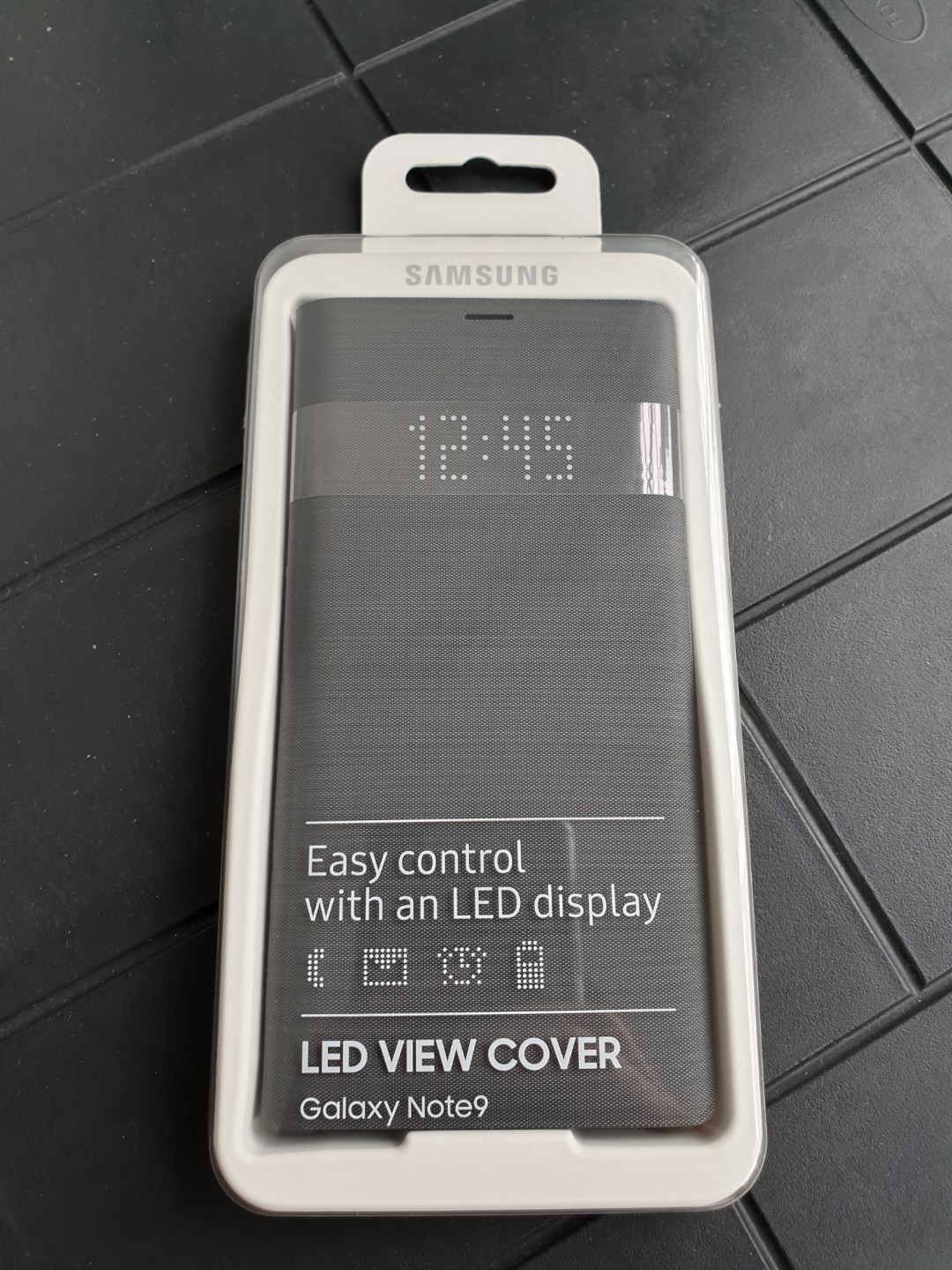 purchase cheap 188f6 882b9 Samsung LED View Cover for Note 9 (Black)