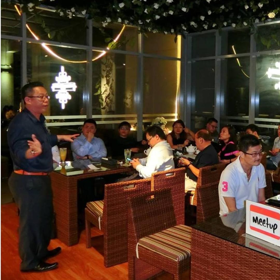 Business meetup singapore