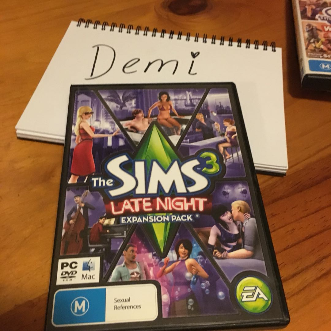 Sims 3 Late night expansion pack