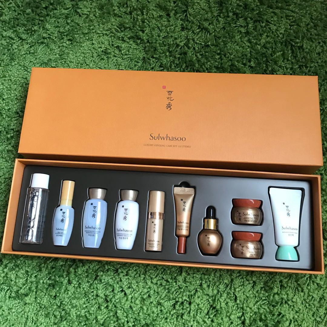 �ล�าร���หารู��า�สำหรั� Sulwhasoo Luxury Ginseng Care Kit 10 items