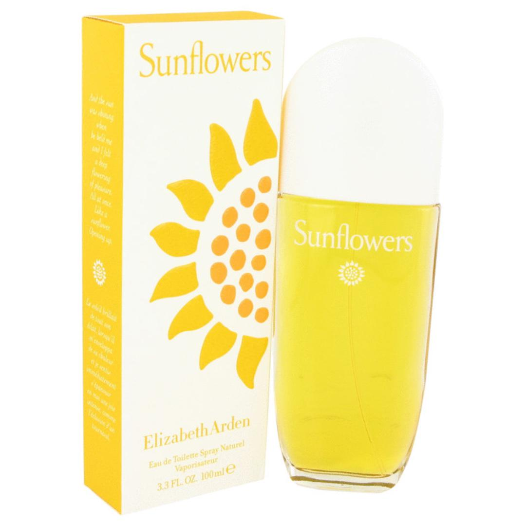 Sunflowers Perfume By ELIZABETH ARDEN FOR WOMEN 3.4 oz Eau De Toilette Spray