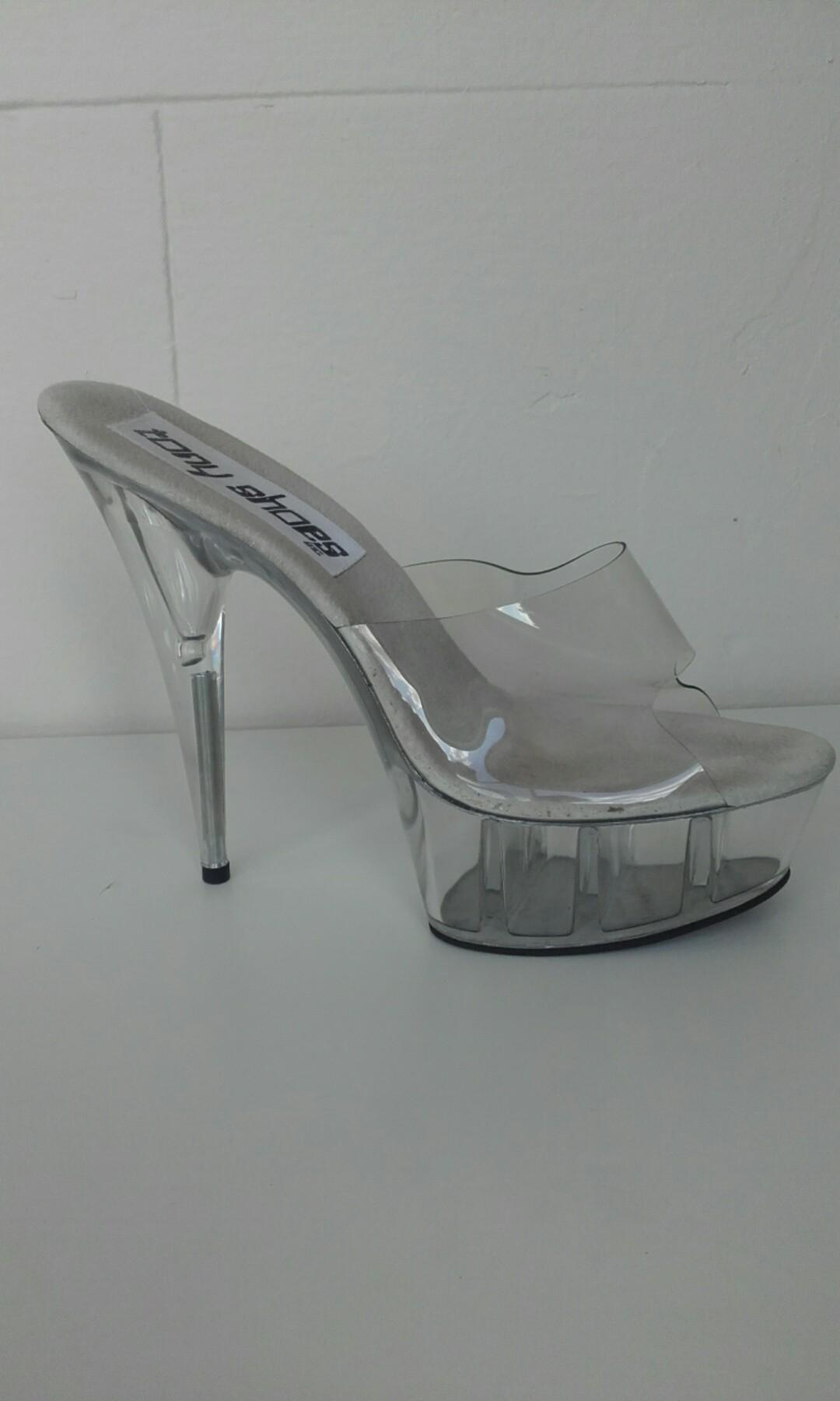 Tony shoes inc exotic dancing heels size 9