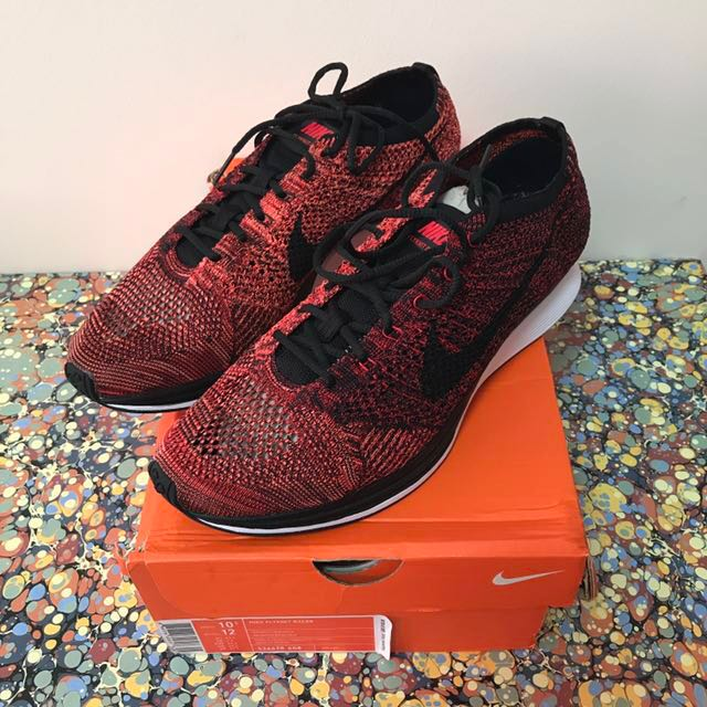 631c2c76eb08 US10.5 Nike Flyknit Racer University Red