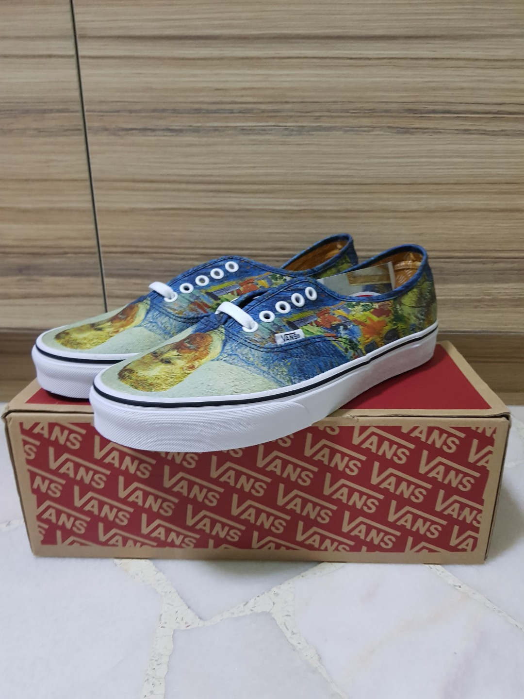 173fb9fdee16 Vans VAN GOGH Self Portrait (US 10)