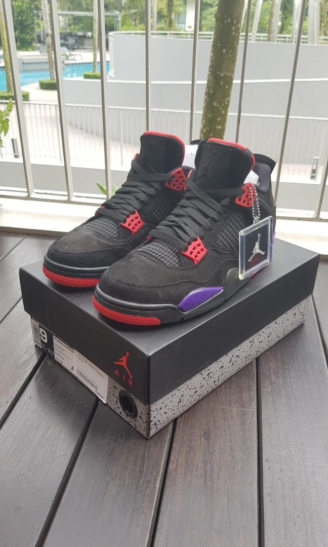 low priced 6f0fa 56751 WTS WTT Air Jordan 4 Retro Raptors, Men s Fashion, Footwear ...