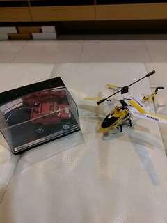 🚚 (含運)模型直升機和車子一起賣