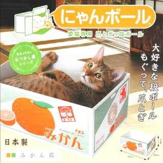 *全新* 貓貓玩具 貓抓盒 水果箱 可愛得意 主子最愛 100% New