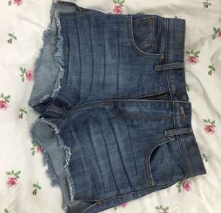 Tapas Denim Shorts Size S #mcsfashion