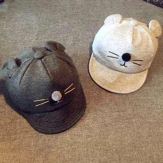 🚚 [Ready Stock] Toddle Cat Cap/Hat