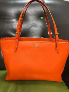 Tory Burch York Buckle Saffiano Leather Tote Bag