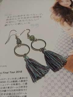 流蘇耳環 earrings