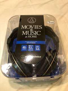 鐵三角/耳罩式耳機/全新/ATH8044/高音質重低音