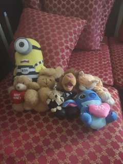 Stuffed Toys To Clear
