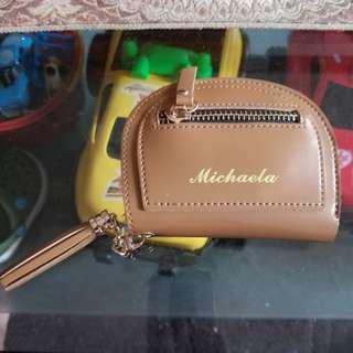 Michaela Bifold Leather Wallet